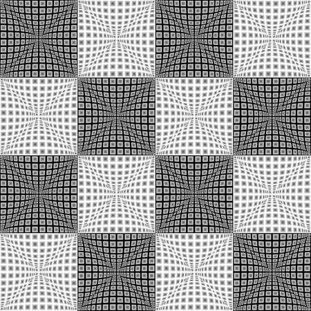 parallelogram: Design seamless monochrome checked pattern