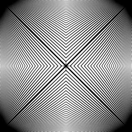 monochrome: Design monochrome stripy geometric pattern