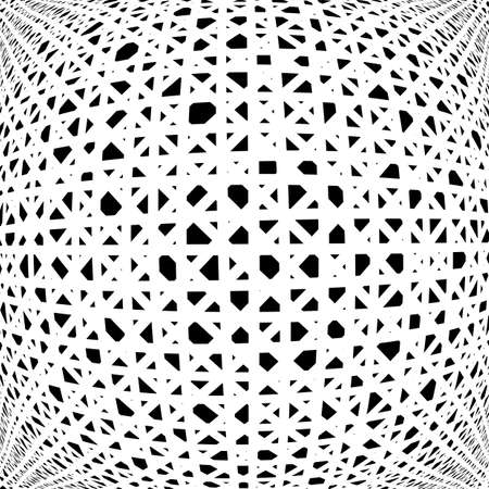 uncolored: Design uncolored abstract pattern