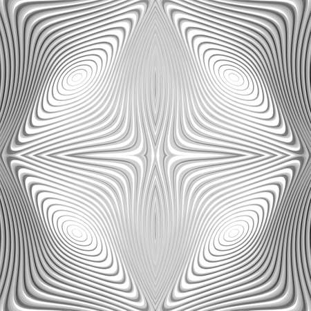 distortion: Design monochrome whirl circular motion background. Abstract striped distortion backdrop. Vector-art illustration. EPS10 Illustration