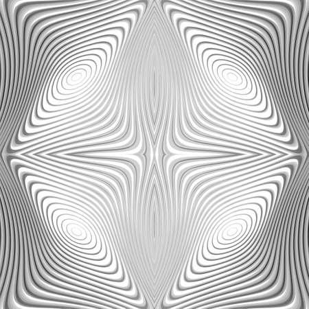 salient: Design monochrome whirl circular motion background. Abstract striped distortion backdrop. Vector-art illustration. EPS10 Illustration