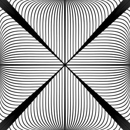 no lines: Design monochrome abstract lines background. Striped geometric backdrop. Vector-art illustration. No gradient