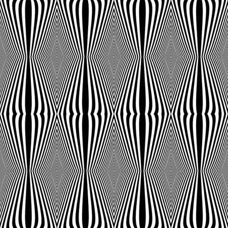 no gradient: Design seamless monochrome pattern. Abstract vertical lines textured background. Vector art. No gradient Illustration