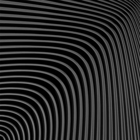 striped lines: Design monochrome movement illusion background. Abstract striped lines distortion backdrop. Vector-art illustration.