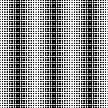 Design seamless monochrome dots background. Abstract vertical pattern. Vector art. No gradient