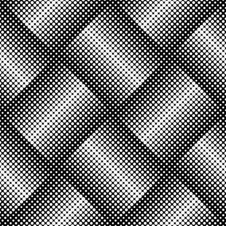Design seamless monochrome dots background. Abstract geometric pattern. Vector art. No gradient Illustration