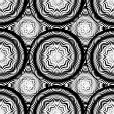 ellipse: Design seamless monochrome ellipse background.