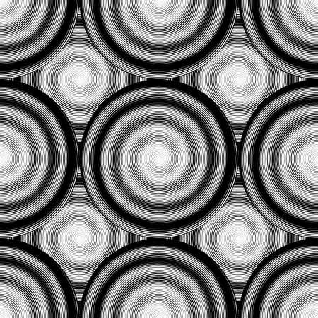 elipse: Diseño de fondo sin fisuras elipse monocromo.