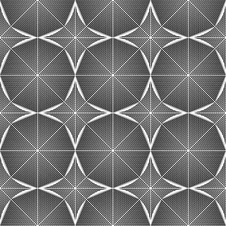 octagon: Design seamless monochrome octagon pattern.
