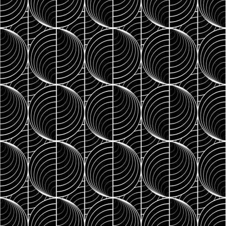 uncolored: Dise�ar l�neas modelo c�rculo incoloro transparente. Red abstracta con textura de fondo. Vector el arte. No degradado Vectores