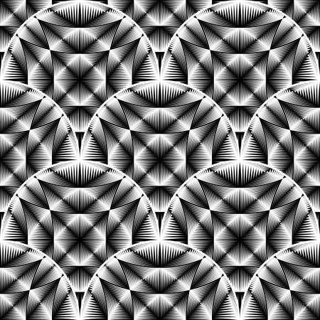 elipse: Diseño modelo elipse monocromo transparente. Fondo geométrico abstracto. Vector el arte. No degradado Vectores