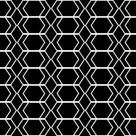 zigzag: Design seamless monochrome geometric pattern. Abstract zigzag background