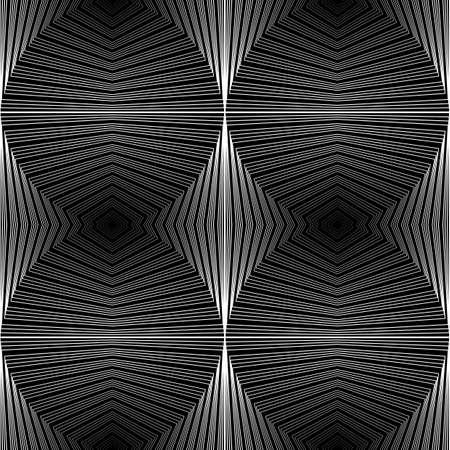 ellipse: Design seamless ellipse geometric pattern. Abstract monochrome waving lines background