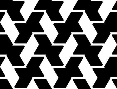parallelogram: Design seamless geometric pattern. Abstract monochrome background