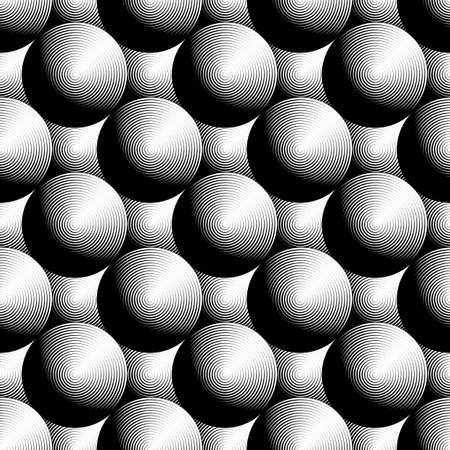 elipse: Diseño modelo elipse monocromo transparente. Textura de fondo abstracto. Vector el arte. No degradado