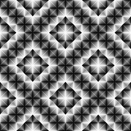 strip design: Design seamless square diamond pattern. Abstract geometric monochrome background. Vector art. No gradient