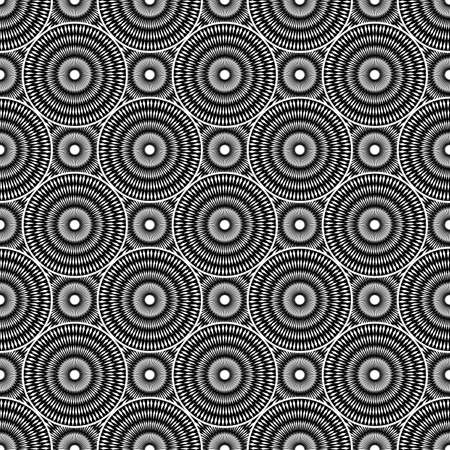 elipse: Design seamless monochrome ellipse background. Abstract strip geometric pattern. Vector art. No gradient