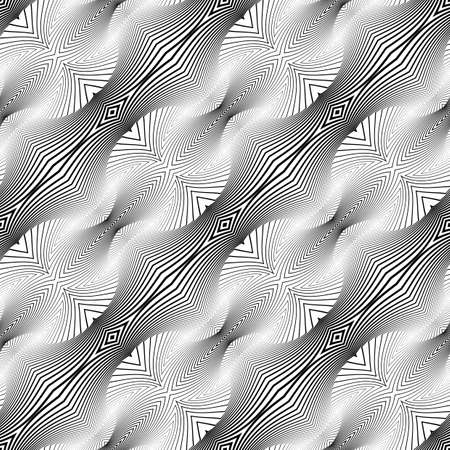 no lines: Design seamless monochrome diagonal pattern. Abstract lines textured background. Vector art. No gradient
