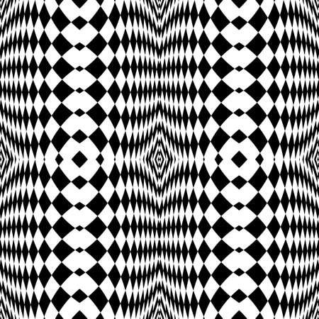 checkered volume: Design seamless monochrome checkered background. Abstract vertical geometric pattern. Vector art Illustration