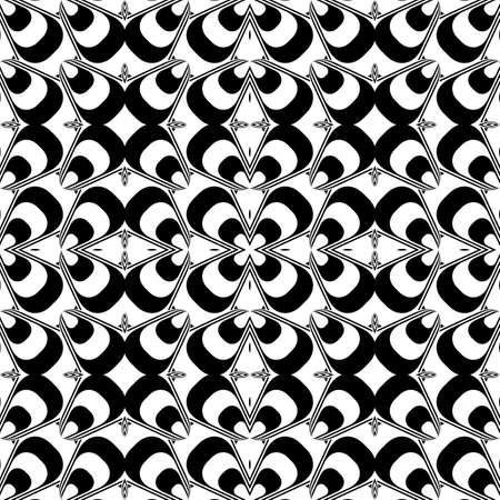 pyramidal: Design seamless geometric pattern. Abstract monochrome background. Vector art Illustration