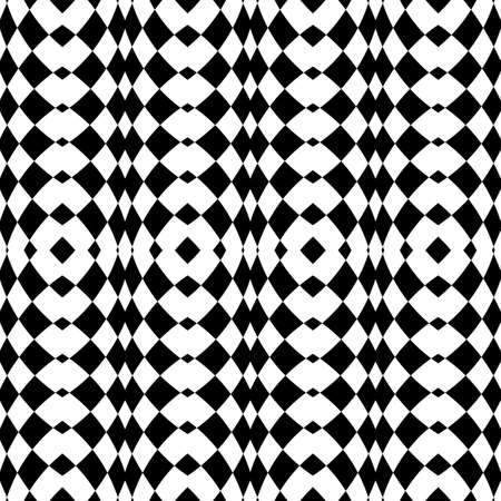 convex shape: Design seamless monochrome checkered background. Abstract vertical geometric pattern. Vector art Illustration