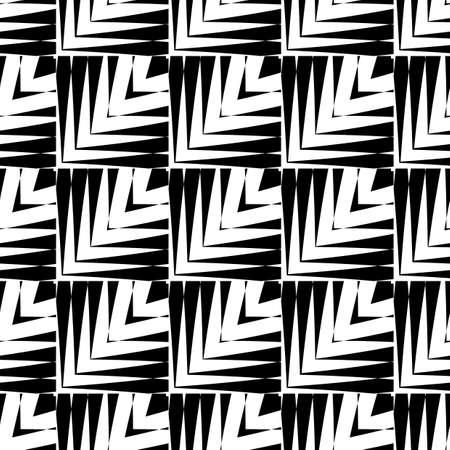 no gradient: Design seamless striped pattern. Abstract geometric monochrome background. Vector art. No gradient Illustration