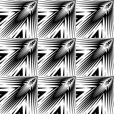 lattice: Design seamless monochrome geometric pattern. Abstract lattice background. Vector art. No gradient