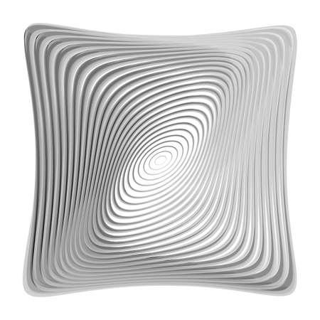 torsion: Design monochrome illusion background. Abstract torsion backdrop.