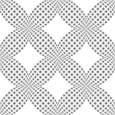 no gradient: Design seamless monochrome grid background. Abstract textured pattern. Vector art. No gradient Illustration