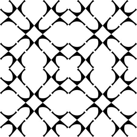 grid background: Design seamless monochrome geometric pattern. Abstract grid background. Vector art
