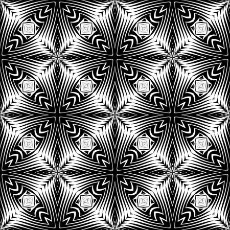 lattice: Design seamless monochrome decorative pattern. Abstract lattice background. Vector art. No gradient