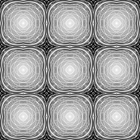 no gradient: Design seamless monochrome grid pattern. Abstract geometric background. Vector art. No gradient