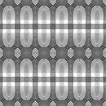 no gradient: Design seamless monochrome grid pattern. Abstract background. Vector art. No gradient