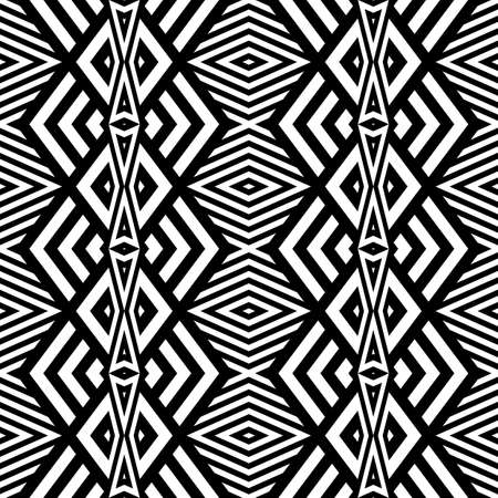 strip design: Design seamless monochrome geometric pattern. Abstract striped background. Vector art