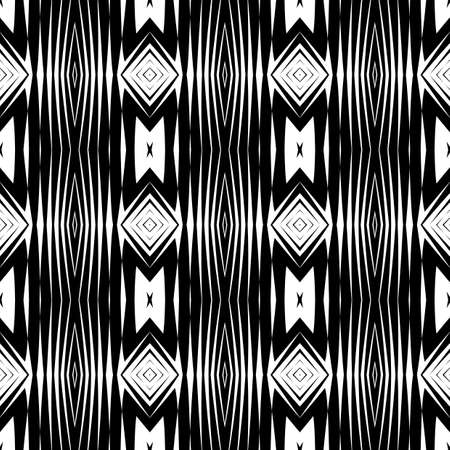 no gradient: Design seamless monochrome diamond pattern. Abstract background. Vector art. No gradient