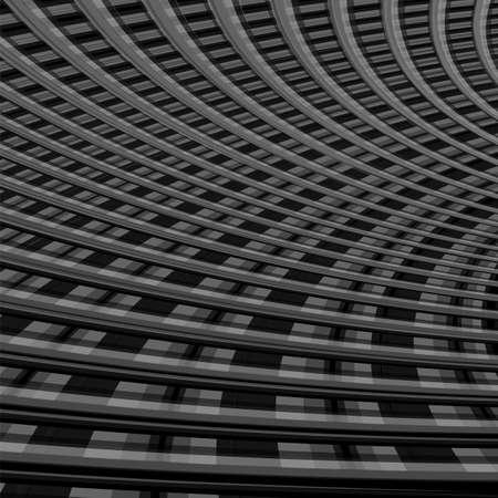 torsion: Design monochrome grid illusion background. Abstract torsion backdrop. Vector-art illustration. Illustration