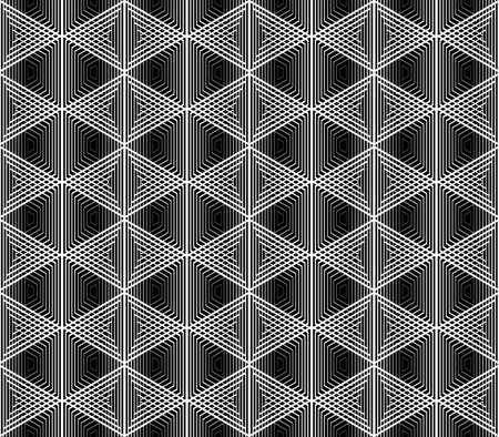 no gradient: Design seamless monochrome grid pattern. Abstract geometric background. Vector art. No gradient