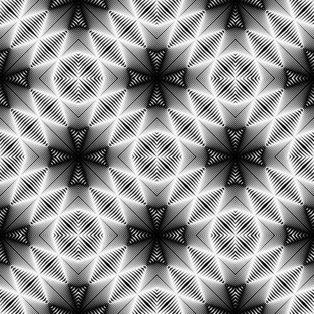 no gradient: Design seamless geometric pattern. Abstract monochrome background. No gradient
