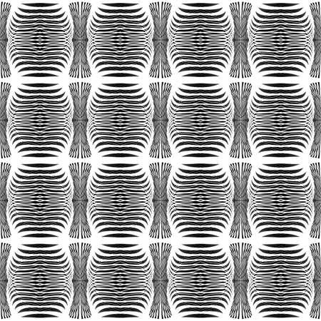 Design seamless monochrome grid pattern. Abstract decorative background. Vector art. No gradient