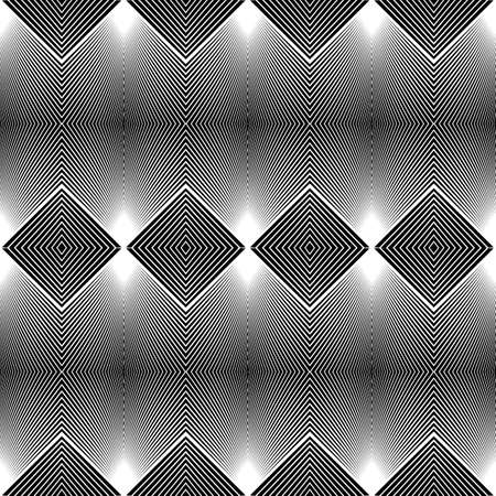 diamond texture: Design seamless monochrome diamond pattern. Abstract geometric background. Vector art. No gradient