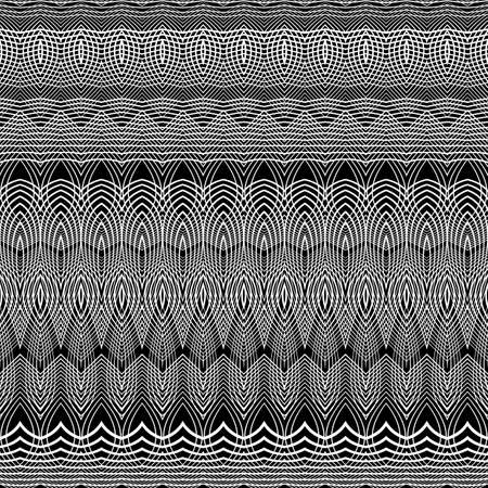 stripy: Design seamless monochrome grid pattern. Abstract background. Vector art. No gradient