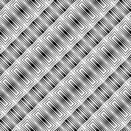 Black and white abstract striped pattern.