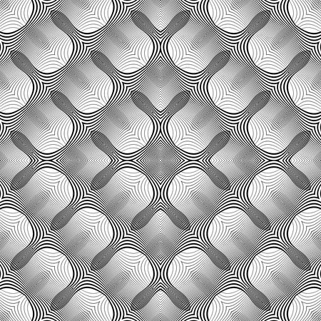 Design waving pattern.