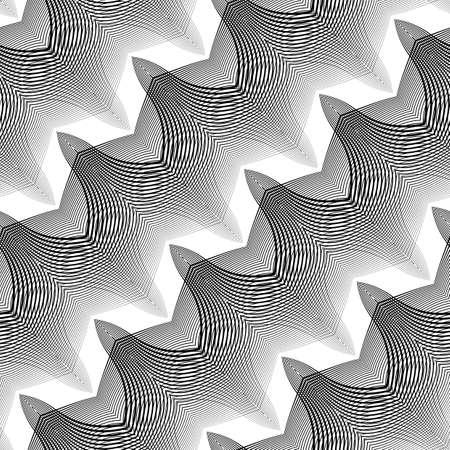 Design grid pattern. Illustration