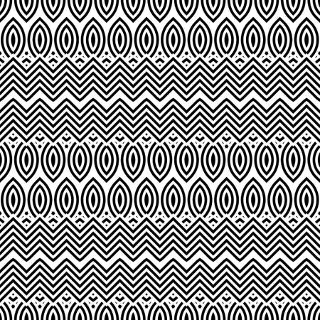 Design zigzag pattern. Illustration