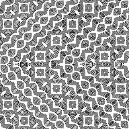 Lacy pattern illustration. Illustration