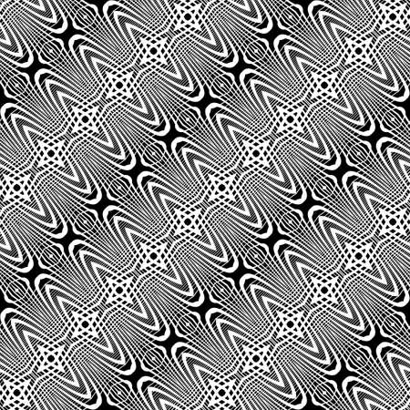 grid pattern: Design seamless monochrome grid pattern. Abstract striped background. Vector art. No gradient