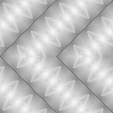 grid pattern: Design monochrome zigzag pattern.