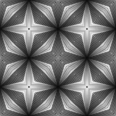 Design monochrome grid pattern.