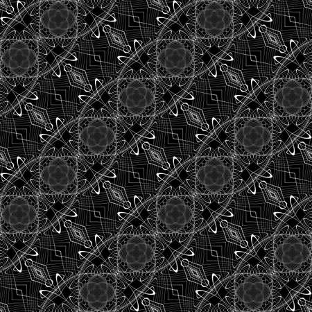 Design monochrome waving pattern.